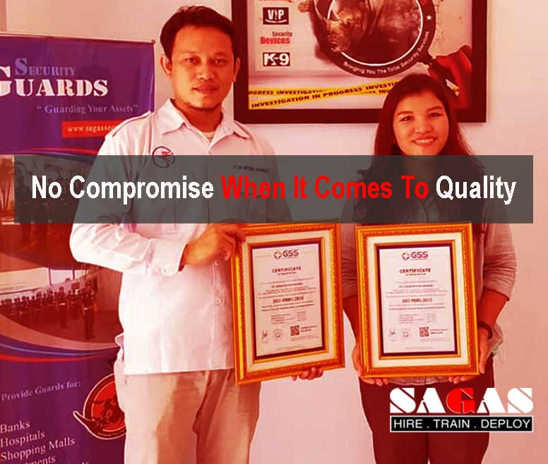 No Compromise When It Comes To Quality of Our Services